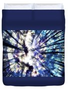 Colorful Trees Vi Duvet Cover