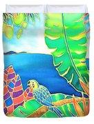 Colorful Tropics 16 Duvet Cover