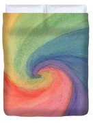 Colorful Wave Duvet Cover