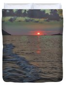 Colors Of The Sunrise Duvet Cover