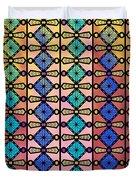 Coloured Glass Window Duvet Cover