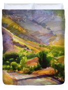 Columbia County Backroads Duvet Cover