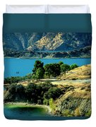 Columbia River Lakes Duvet Cover