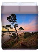 Columbia River Sunrise Duvet Cover