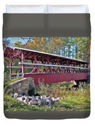 Colvin Covered Bridge Duvet Cover