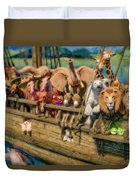 Come Aboard There's Plenty Of Room Ark Duvet Cover