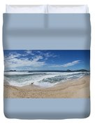 Coming Ashore Duvet Cover