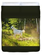 Coming Through The Dust Duvet Cover