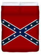 Confederate Stars And Bars T-shirt Duvet Cover