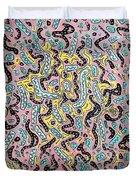 Confetti Wiggle Room Duvet Cover
