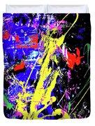 Contemporary Art Duvet Cover