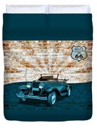 Convertible Vintage Car Duvet Cover
