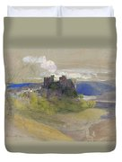 Conway Castle - Digital Remastered Edition Duvet Cover