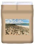 Coral Beach, Skye Duvet Cover
