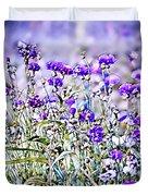 Cornflower Meadow Duvet Cover by Susan Maxwell Schmidt