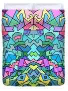 Cosmic Lock Duvet Cover