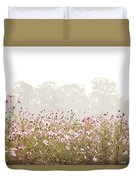 Cosmos Field Duvet Cover