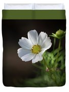 Cosmos In The Cottage Garden Duvet Cover