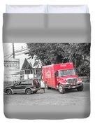 Costa Rica Soda Truck Duvet Cover