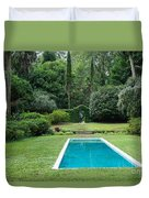 Courtyard Entrance Duvet Cover