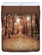 Covered Path Duvet Cover