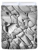 Cracked Earth Abstract Duvet Cover