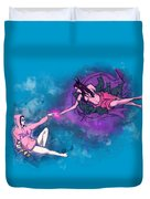 Creation Of Woman Duvet Cover