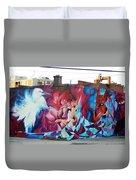 Creative Splash Of Artwork Duvet Cover