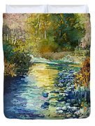 Creekside Tranquility Duvet Cover by Hailey E Herrera