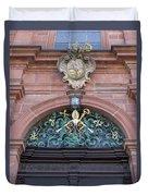 Crest Of Saint Peter Duvet Cover