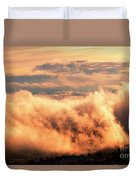 Cripple Creek Fog Duvet Cover