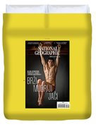 Croatian Cover Of The July 2018 National Geographic Magazine Duvet Cover