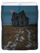 Crooked Moon Duvet Cover