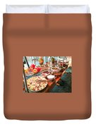 Crunch Time  Duvet Cover