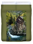 Crystal Mill Duvet Cover