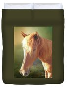 Cute Chestnut Pony Duvet Cover