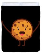 Cute Cookie For Cooke Lovers Men Women And Kids Duvet Cover