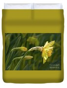 Daffodil In Sun Duvet Cover