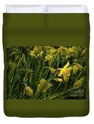 Daffodil Starlight Duvet Cover
