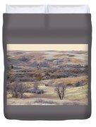 Dakota Prairie Slope Reverie Duvet Cover