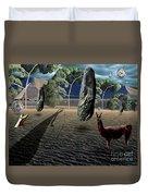 Dali's Llama Duvet Cover