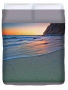 Dana Point Sunset Duvet Cover
