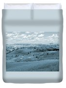 Dance Of The Clouds And Sun Duvet Cover