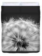 Dandelion Seeds Pod Macro Duvet Cover