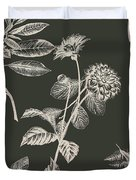 Dark Botanics  Duvet Cover