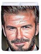 David Beckham Duvet Cover