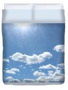 Daylight Savings Duvet Cover