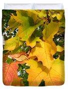 Days Of Autumn 24 Duvet Cover