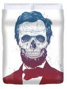 Dead Lincoln Duvet Cover