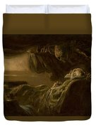 Death Of The Old Man Duvet Cover